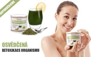 Superpotravina Blendea Supergreens recenze: trend na detoxikaci organismu