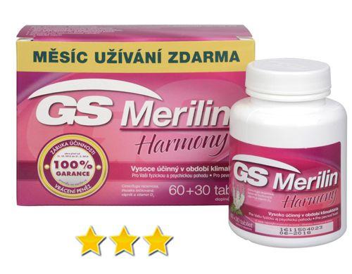 GS Merilin Harmony: opravdu je tak účinný v období menopauzy?