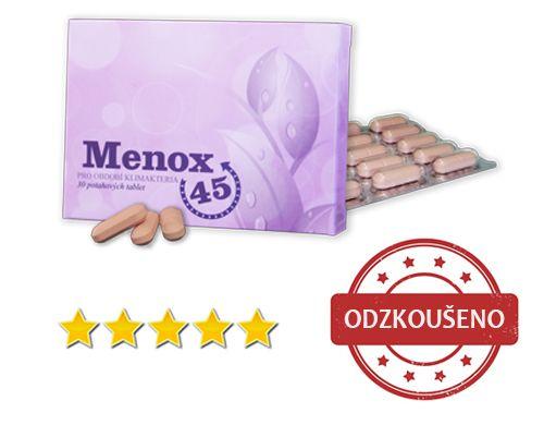 Menox 45 - Produkt proti menopauze