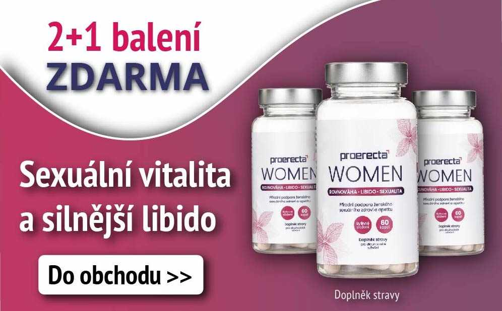 Proerecta WOMEN: Získejte 2 balení + 1 Zdarma