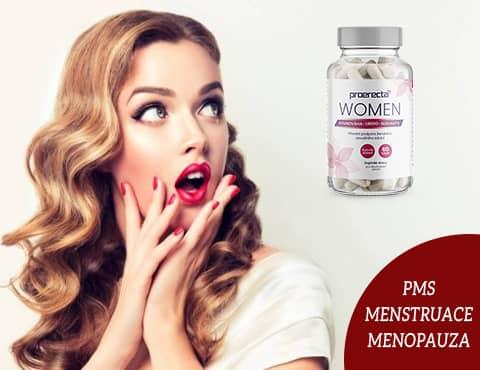 Proerecta WOMEN recenze: Doplněk stravy k PMS, menstruaci a menopauze
